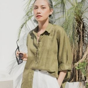 Investments Linen Top
